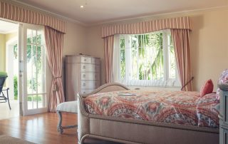 Monkey Hill Coral Bedroom
